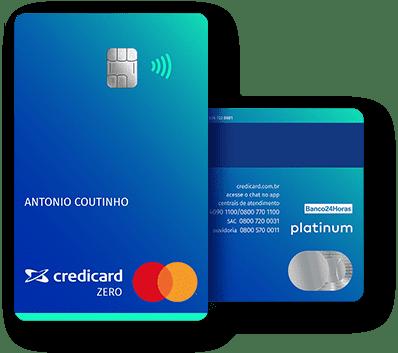Cartão de Crédito Credicard ZERO Platinum
