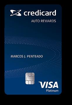 Cartão de Crédito Credicard Auto Rewards Platinum Visa