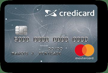 Cartão de Crédito Credicard Nacional MasterCard