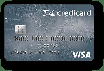 Cartão de Crédito Credicard Nacional Visa