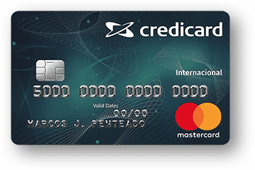 Cartão de Crédito Credicard Internacional MasterCard
