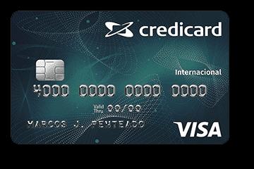 Cartão de Crédito Credicard Internacional Visa