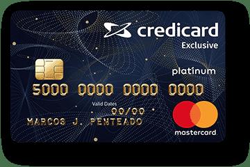 Cartão de Crédito Credicard Exclusive Platinum Mastercard