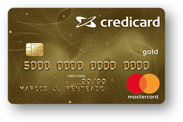 Cartão de Crédito Credicard Gold MasterCard