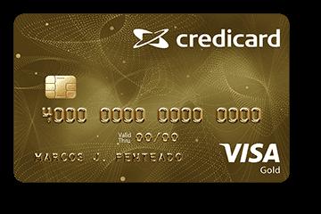 Cartão de Crédito Credicard Gold Visa