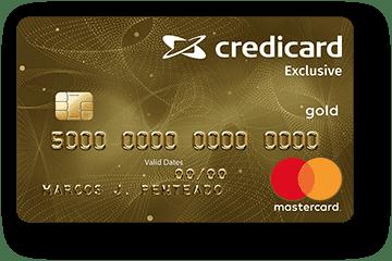 Cartão de Crédito Credicard Exclusive Gold Mastercard