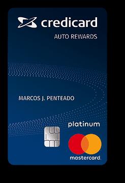 Cartão de Crédito Credicard Auto Rewards Platinum Mastercard